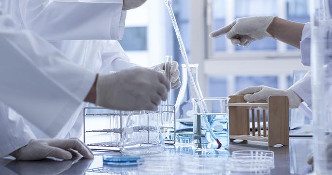 しっかり届ける、 製薬会社の技術を集結